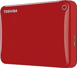 Toshiba Canvio Connect II - Disco duro externo de 2 TB (USB 3.0, 6,35 cm (2.5