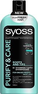 Syoss Shampoo Purify & Care 500 ml