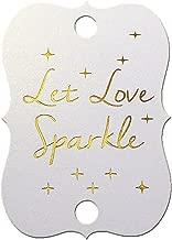 Best let love sparkle tags Reviews