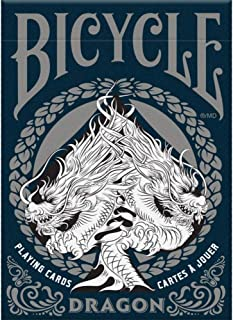 Bicycle Dragon Playing Cards,Blue