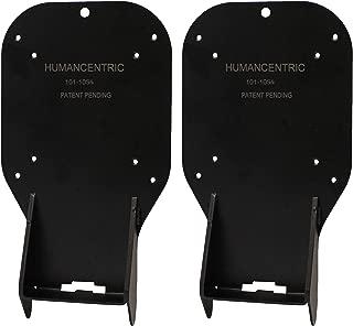 HumanCentric VESA Mount Adapter (2 Pack) for HP 22er, 22es, 23er, 23es, 23f, 24er, 24ea, 25er, 25es, 25f, 27er, 27ea, 27es, 27f, 27fw Monitors [Patent Pending]