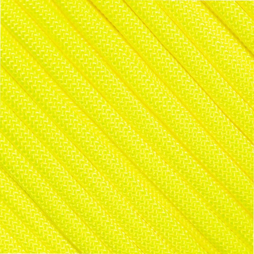 West Popular standard Coast Paracord Solid Neon Ranking TOP19 - Color Vibrant 550 Sele