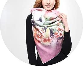 Printing Winter Scarf Women Shawls Thicken Warm Scarves Wool Scarf Woman Wrap