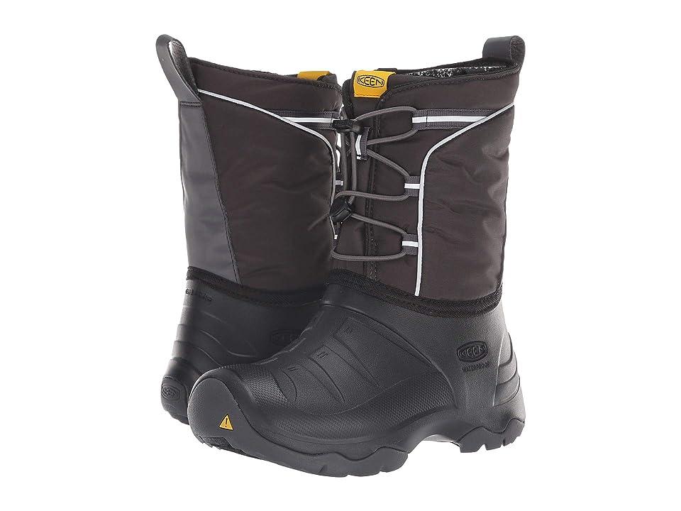 Keen Kids Lumi Boot WP (Little Kid/Big Kid) (Black/Magnet) Kids Shoes
