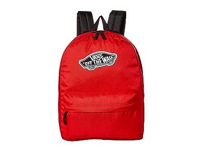 Vans Realm Backpack (Goji Berry) Backpack Bags