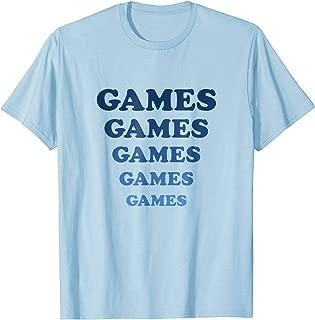 Games Games Games T-Shirt   Amusement Park Light Blue Shirt
