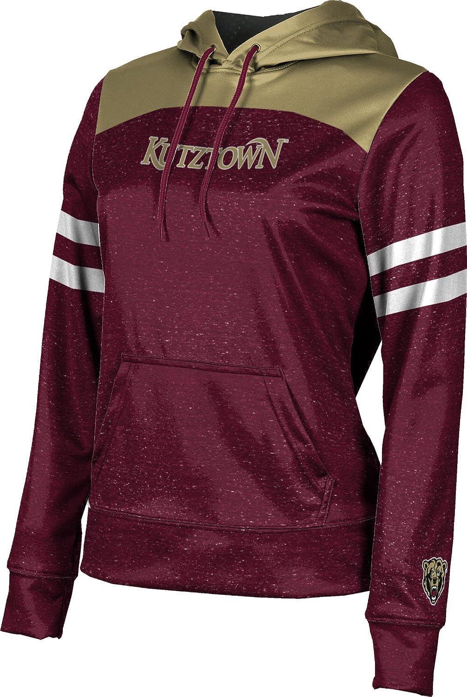Kutztown University Girls' Pullover Hoodie, School Spirit Sweatshirt (Game Time)