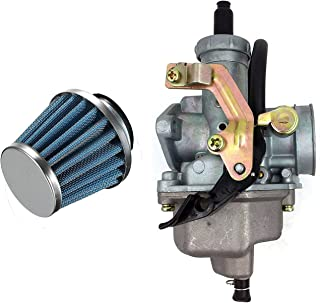 Auto-Moto Carburetor W/Air Filter for Honda ATV Big Red ATC200E ATC200ES ATC200M TRX250X TRX250EX Carb