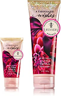 Bath & Body Works One for home & One for Travel – ULTRA SHEA Body Cream Set – A Thousand Wishes