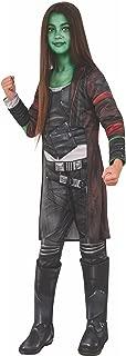 Rubie's Costume Guardians of The Galaxy Vol. 2 Deluxe Child's Gamora Costume, Multicolor, Medium