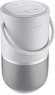 Bose Portable Smart Speaker - Wireless Bluetooth Speaker with Alexa Voice Control Built-In, Luxe Silver