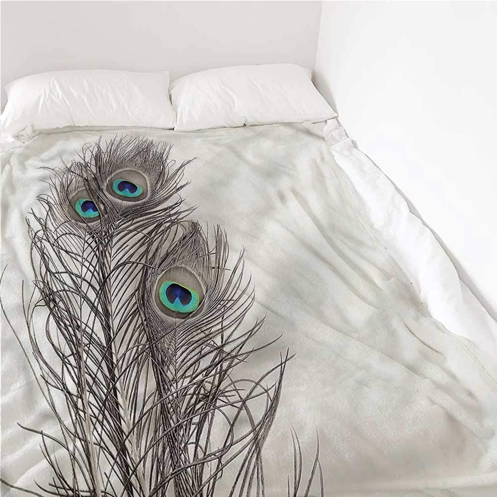 Breathable Blanket Peacock 毎週更新 Feathers of Bird Conditio Air Exotic 購買