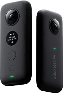 Insta360 ONE X - 360° Camera with WiFi Preview and Transfer 18MP Photos and 5.7K Videos with FlowState Stabilization