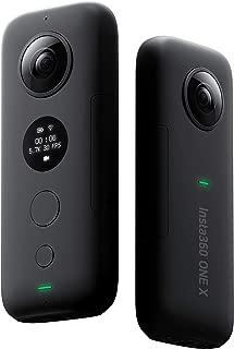 Insta360 ONE X 5.7K超高画質動画 手ブレ補正機能FlowState搭載 360度バレットタイム 高速WiFi (iphone/Android対応) 国内正規品 黒