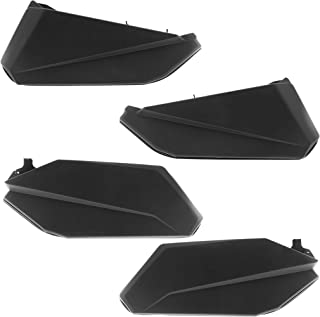 Lower Door Panel Insert Kit Black for Can Am Maverick X3 MAX(Front & Rear)