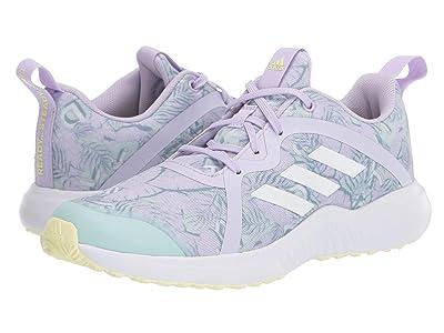 adidas Kids FortaRun X (Little Kid/Big Kid) (Purple Tint/White/Dash Green) Girls Shoes