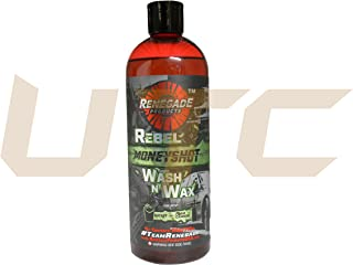 24 Ounce Rebel Moneyshot Wash N' Wax Carnauba Formula Renegade Products USA Quick Wash All in One