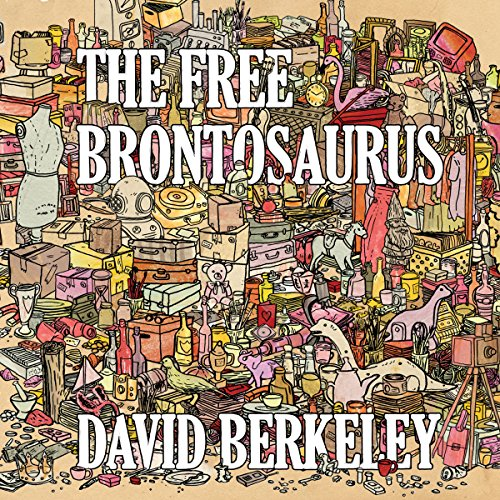 The Free Brontosaurus audiobook cover art