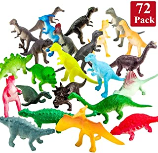 Mini Dinosaurs (72 Count) Best for Cake Toppers