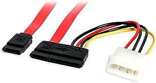 "STARTECH Internal 18"" Serial ATA Cable with LP4 Adapter SATA18POW"