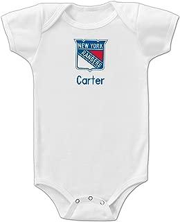 Personalized New York Rangers Onesie 0-3 Months