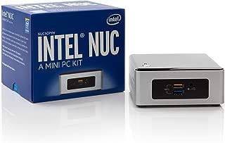 Intel NUC NUC5CPYH Mini PC, Intel Dual-Core N3050 Upto 2.16GHz, 4GB DDR3, 1TB HDD, AC WiFi, Bluetooth, Dual Monitor Capable, Windows 10 Professional 64Bit (4GB Ram + 1TB HDD)