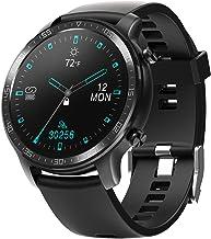 YIRSUR Smart Watch for Men and Women, Support Wireless Charging, HD Screen Fitness Tracker, IP68 Waterproof Heart Rate Rec...