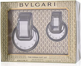 BVLGARI Omnia Crystalline Eau De Toilette For Women - EDT 65Ml. & Eau De Toilette 15Ml.