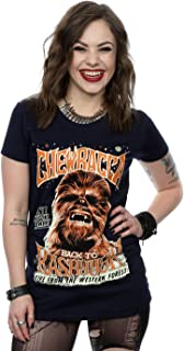 Women's Chewbacca Rock Poster T-Shirt