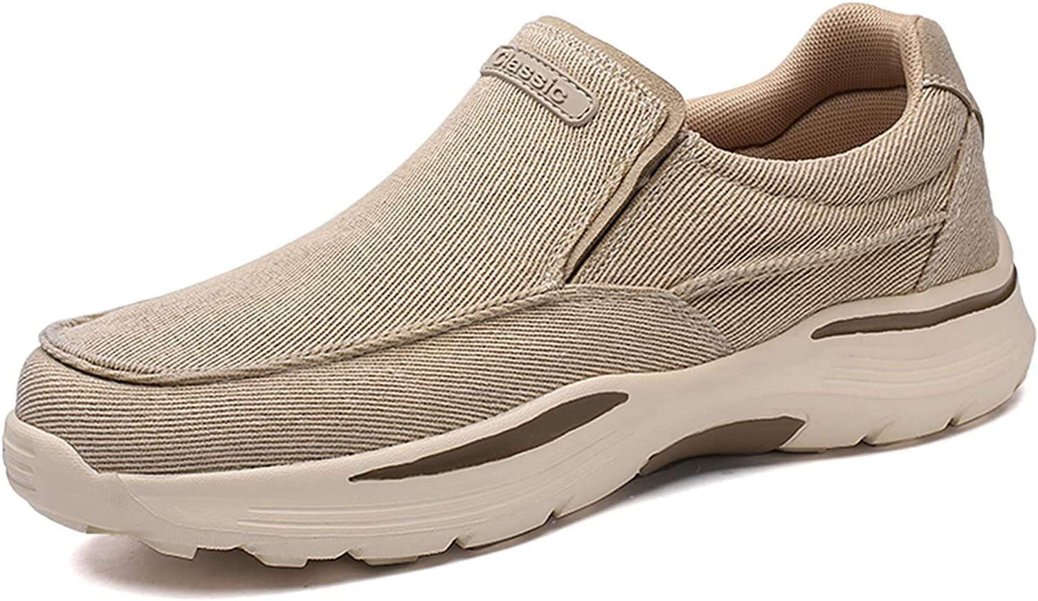 Very popular Loafers-for Men Slip-On Casual Shoes Wal Lightweight Canvas Boat Year-end gift
