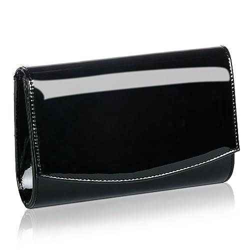 e23ea575b6 Women Patent Leather Wallets Fashion Clutch Purses