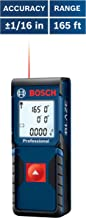 Bosch GLM165-10 Blaze One Laser Distance Measure, 165 ft. Range