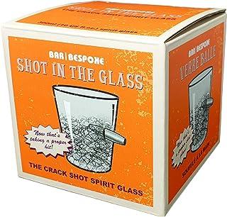 Volltreffer Whiskeyglas mit Patrone im Glas - Whiskyglas Whiskey Tumbler Whisky Tumbler