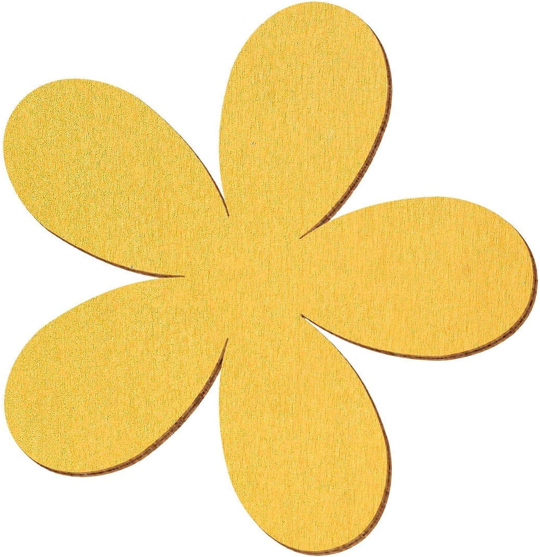 Goldene Holz Plumeria - 2-10cm Streudeko Basteln Deko Tischdeko, Pack mit 100 Stück, Größe 7cm B07NC2Q5XN  | Outlet Online