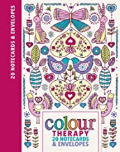 Colour Therapy 20 Notecards & Envelopes