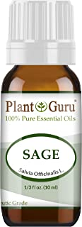 Sage Essential Oil (Austria) 10 ml 100% Pure Undiluted Therapeutic Grade.