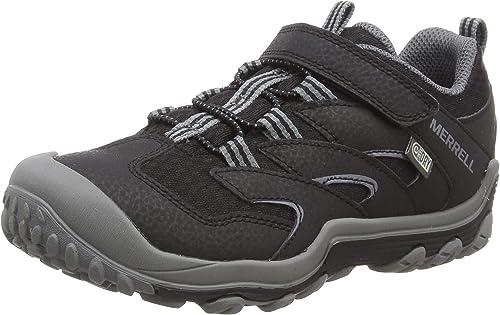 Merrell M- M-Chameleon 7 Low A C Waterproof, Chaussures de Randonnée Basses Mixte Enfant