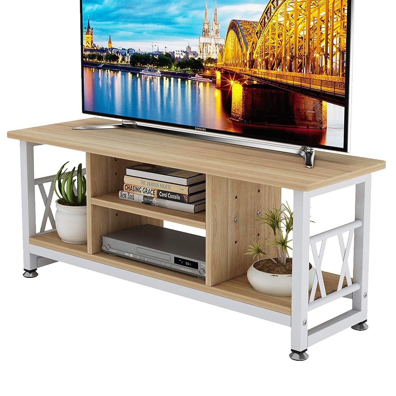 ラインナップレッスンライセンスDEWEL テレビ台 テレビラック AVボード 32型 幅90cm ローボード テレビボード TVボード 40インチ キャスター付き 収納ラック ロータイプ 一年保証 簡単組立 北欧 薄型 オープン設計 ナチュラル 90×30×37cm