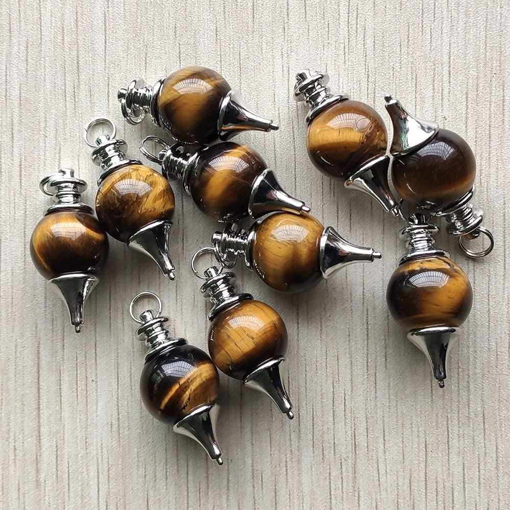 ZILMAKO 10pcs lot Super special Limited price price fashion good quality stone b eye tiger natural
