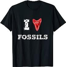 I Love Fossils Megalodon Tooth Paleontology Rock Hound Gift