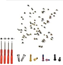 Replacement Screws for iPhone 7,Including Battery Replacement Screws,Screen relacement Screws Full Set with Bottom Pentalobe Screws,