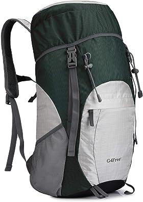 G4Free 超軽量 折畳みバッグ 登山リュック 40l/45l 大容量 防水 ハイキング バックパック 旅行バッグ 軽量 通気 便利グッズ 多機能 男女兼用 アウトドア