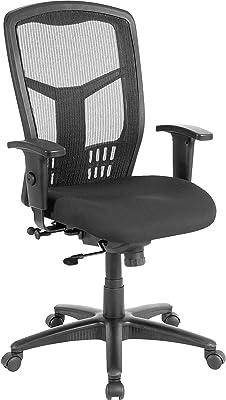 Lorell LLR86205 Executive High-Back Swivel Chair Black