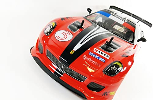hasta un 65% de descuento Ferrari GTO GTO GTO Style 4WD Drift Radio Remote Control Car POWERFUL 280 Motor RC Drift Car 1 10 Scale - 4 FREE Rubber Tires for Grip by Action Force Ltd  genuina alta calidad