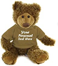 Best Plushtoys Adorable Frankie Bear 12 Inches, Stuffed Animal Personalized Gift - Great Present for Mothers Day Valentine Day Graduation Day Birthday Christmas - Custom Text on Hoodie (Tan)