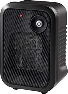andily Space Heater Electric Heater for Home and Office Ceramic Small Heater with Thermostat,500W