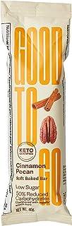 Good To Go Soft Backed Cinnamon Pecan Keto Bar, 40 gm