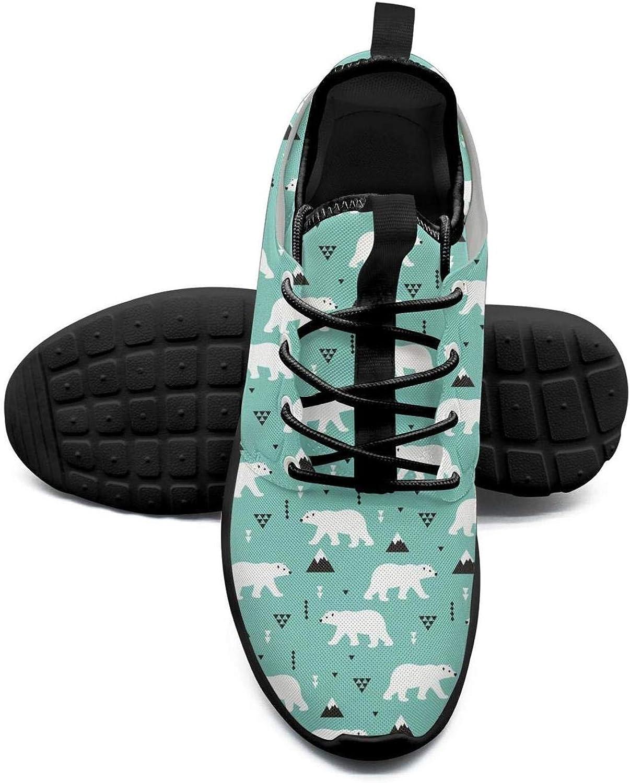 ERSER bluee Polar Bear Stand Cool Running shoes Women