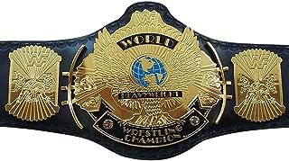 Buckle-Down Mens Seatbelt Belt WWE Kids 1.0 Wide-20-36 Inches Man Randy Savage Pose//Macho Madness Blue//Yellow//Orange