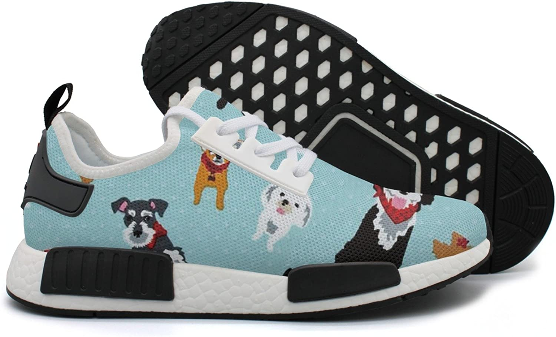 YHFJYT Breathable Mesh Plate shoes Retriever redtweiler Havanese Sheepdog Fashion Sports shoes